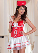 Nurse Costume, Red